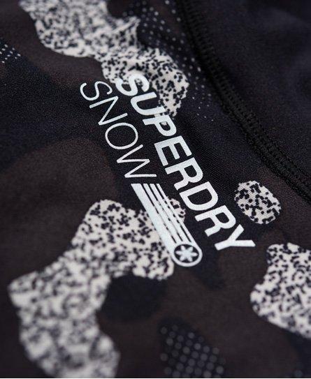 Superdry Carbon Base Layer Half Zip Top