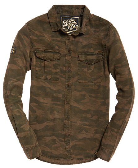 Superdry Roxanne Military Shirt