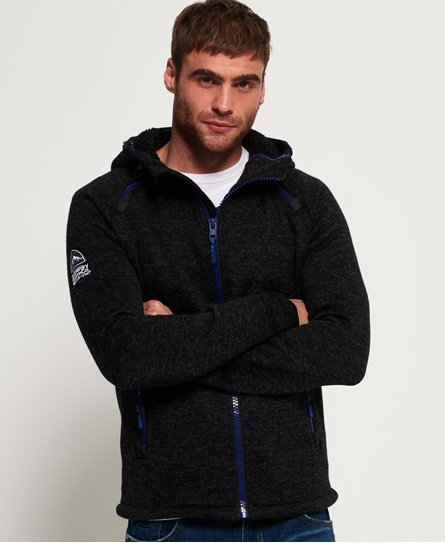 Sweat à capuche à double zip Storm