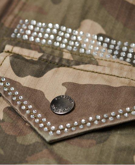 Superdry Rookie Embellished Military Jacket