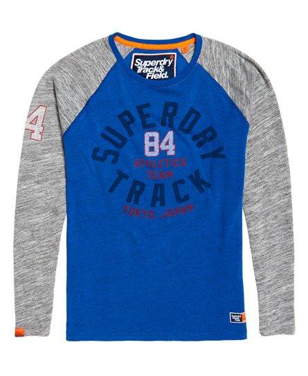 Superdry Track & Field Long Sleeve Raglan T-Shirt