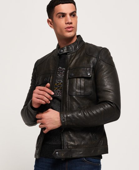 Endurance Moto X Leather Jacket