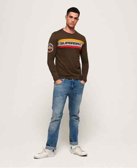 Superdry Trophy Langarm-T-Shirt