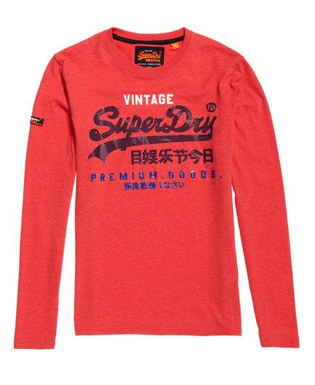 Superdry Premium Goods Infill Long Sleeve T-Shirt
