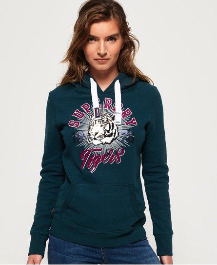 Superdry Tigers 1976 Sparkle Hoodie