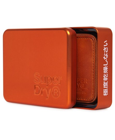 Superdry Wing Zip Wallet In A Tin
