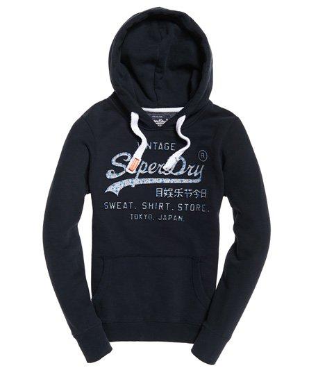 Superdry Shirt Shop Infill Hoodie mit Prägung