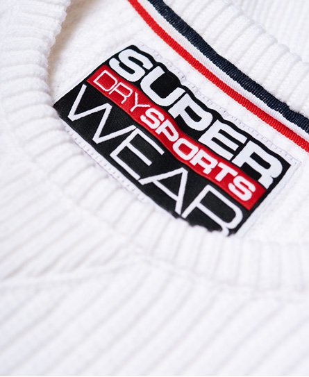 Superdry Pull loose ras du cou Winter Sports