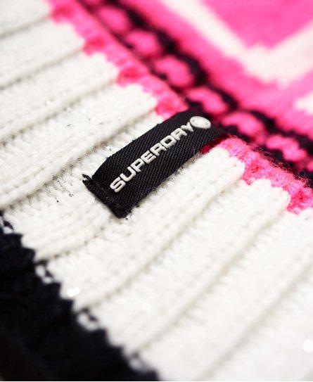 Superdry Berretto con logo Snow