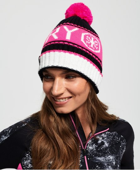 Superdry Bonnet logo Snow