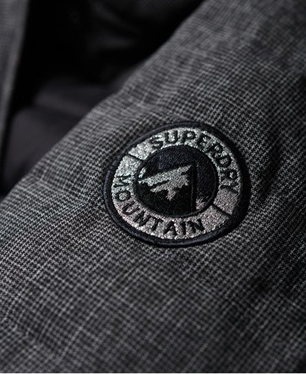 Superdry Elements Tweed Hybrid Hooded Jacket