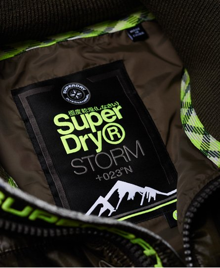 Superdry Storm Hybrid Camo Block Zip Hoodie
