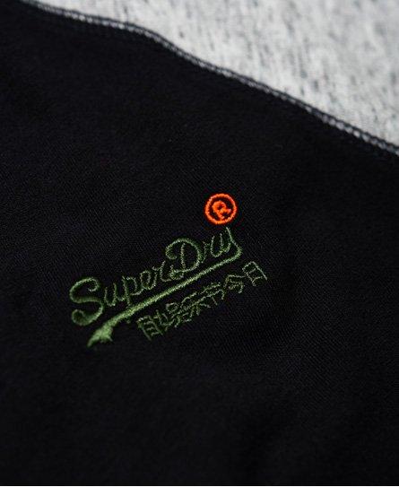 Superdry Engineered Baseball Long Sleeve Top