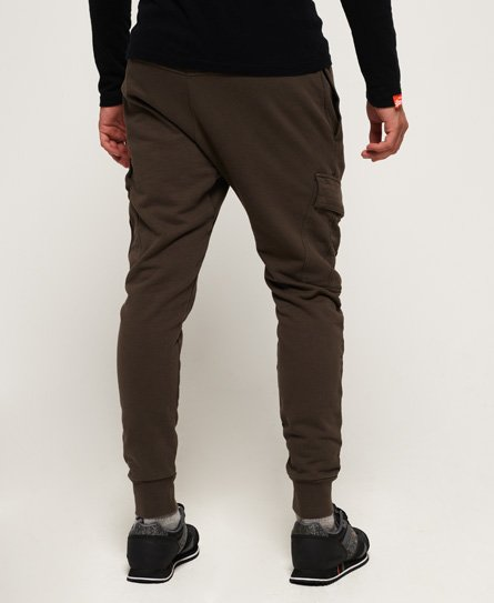Rookie Cargo Pocket Joggers In Olive Tree Green