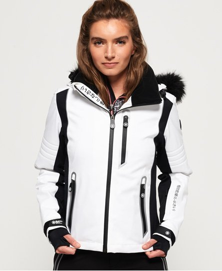 Superdry Sleek Piste Skijacke