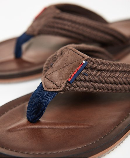 e655538c6735e Mens - Cove Flip Flops in Brown eclipse Navy