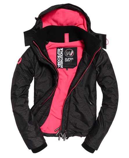 Superdry Arctic Hooded Pop Zip SD-Windcheater