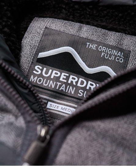 Superdry Tweed Mix Chevron Fuji Jacket