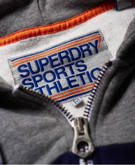 Superdry Dreifarbige Trophy Kapuzenjacke