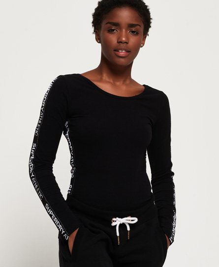 Superdry SD Athletics Long Sleeve Bodysuit
