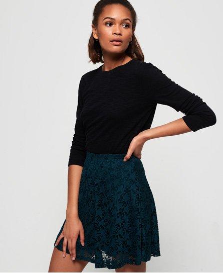 Superdry Imogen Star Lace Skater Skirt