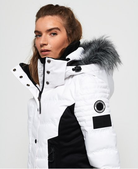 Superdry Luxe Snow Puffer Jacket