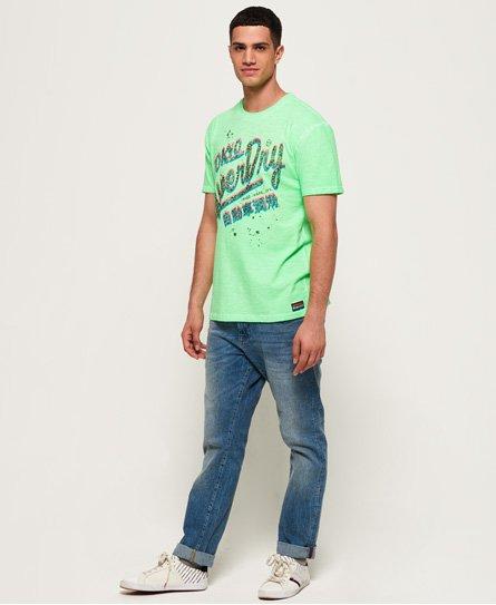 Superdry Camiseta oversize Cold Dye Acid Pacifica
