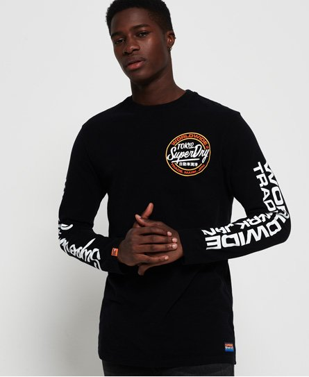 Superdry T-shirt à manches longues oversized Ticket Type