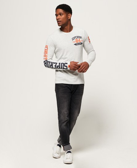 Superdry Track & Field Long Sleeve T-Shirt