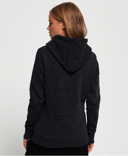 Superdry Sudadera con capucha y logo Vintage con strass combinado