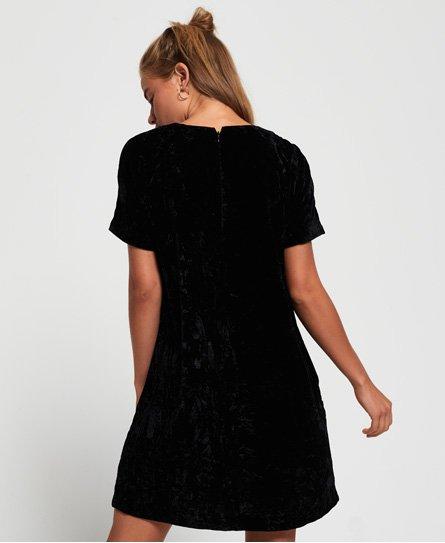 Superdry Robe t-shirt en velours Leonie