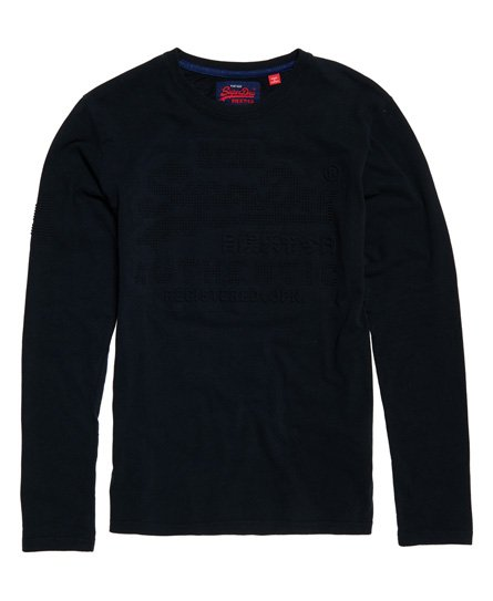 Superdry Vintage Authentic Emboss Long Sleeve T-Shirt