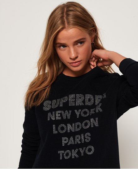 Superdry Embellished Sweat Dress