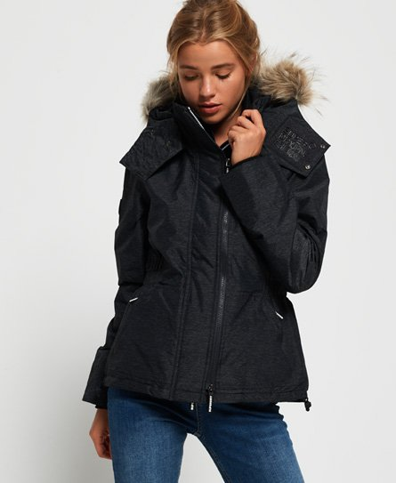 Superdry Hooded Faux Fur Winter SD-Windattacker Jacket