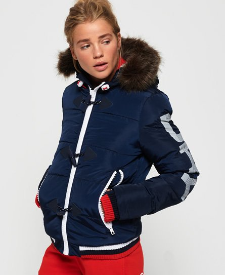 Superdry Sportswear Snorkel Puffer Jacket