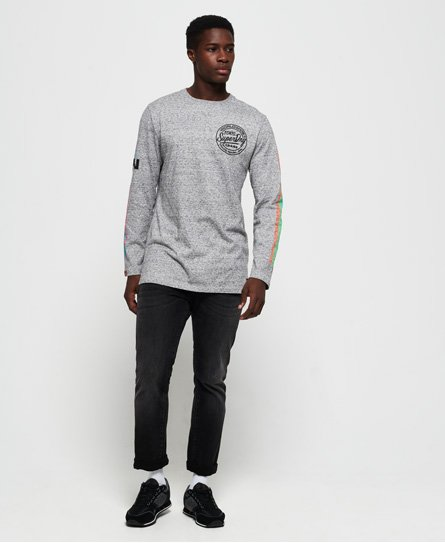 Superdry Ticket Type Oversized Long Sleeve T-Shirt