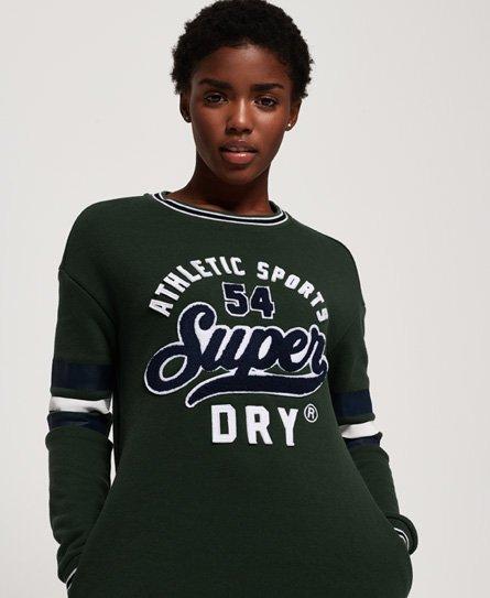 Superdry Tori Collegiate sweatjurk