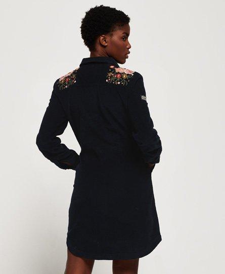 Superdry Robe en velours côtelé Grace