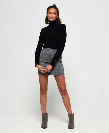 Superdry Edison Check Mini Skirt