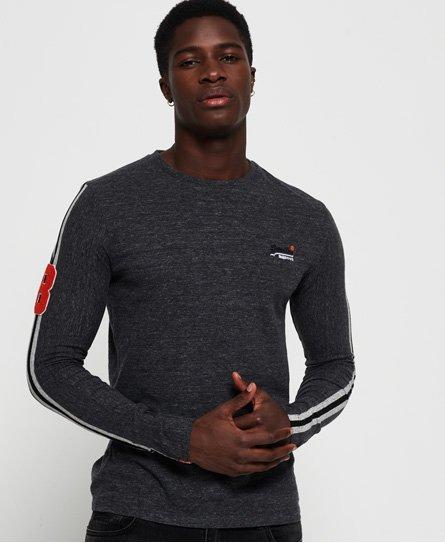 Superdry T-shirt à manches longues rayé Sport Orange Label