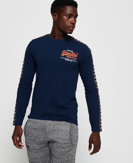 Superdry T-shirt à manches longues Premium Goods Duo Essential