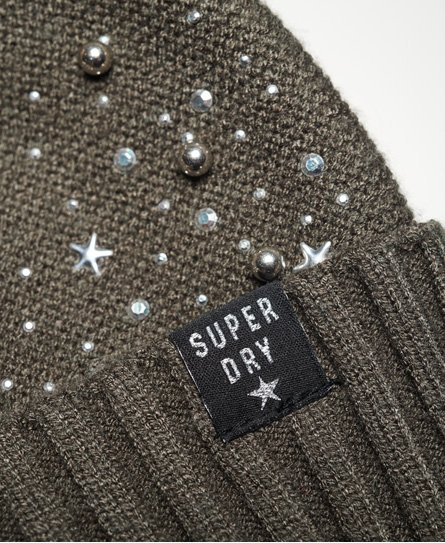 Superdry Bonnet à strass Rock