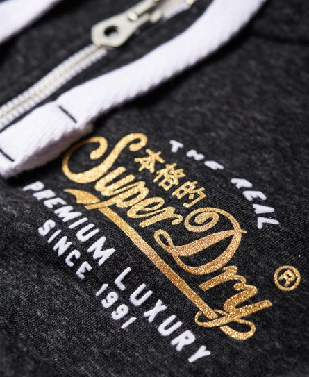 Superdry Premium Luxe Zip Hoodie