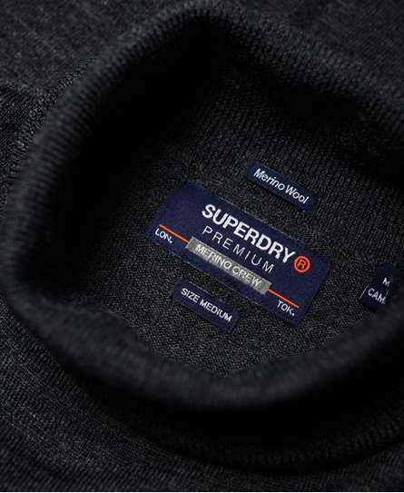 Superdry Merino Roll Neck Jumper