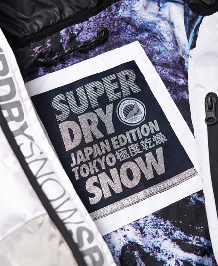 Superdry Veste de ski en duvet Snow Cat
