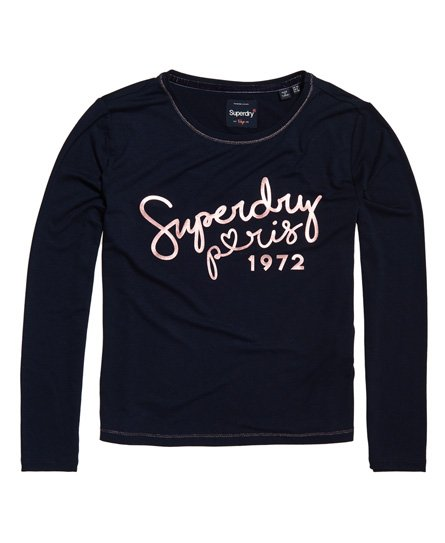 Superdry Cassie Long Sleeve Loungewear Top