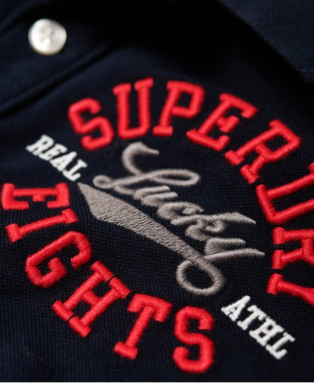 Superdry Classic CNY Superstate Pique Polo Shirt
