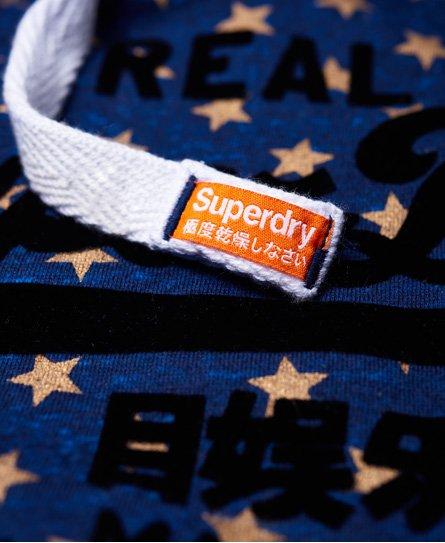 Superdry Vintage Logo Star All Over Print Hoodie
