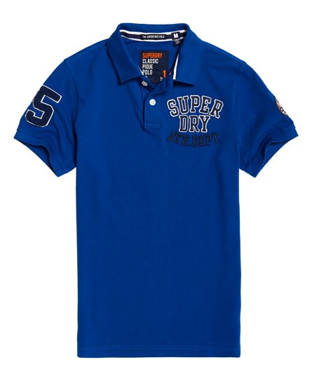 Superdry Oldskool Superstate Pique Polo Shirt