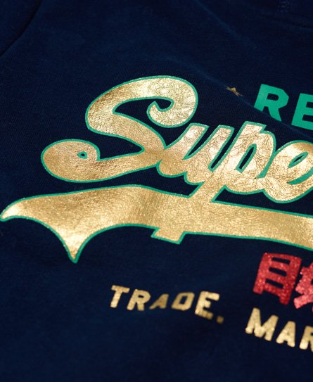 Superdry Vintage Logo Regal Stripe Hoodie